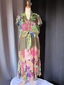 ensemble robe et haut paul brial lin soie taille 3 et 4   eBay c512a8611e56