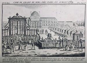 Gardes-Suisses-Juillet-1789-Ecole-Militaire-Paris-Champs-de-Mars-Dragons-Hussard