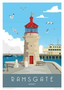 KENT-TRAVEL-POSTERS-HIGH-QUALITY-A4-GLOSSY-PRINTS