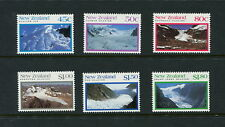 New Zealand 1992  #1104-9  mountains glaciers  6v.  MNH  G577