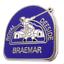 Braemar Gathering Royal Deeside Highland Games Scotland Small Pin Badge