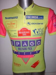 GIORDANA-Shimano-spageoas-shirt-jersey-adulte-L-Cyclisme-Cycle-Velo-Ciclismo-Top