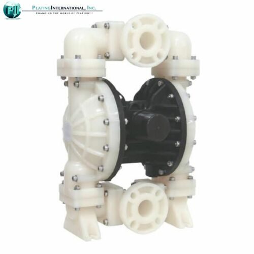 """NEW IN BOX 2/"""" inch Santoprene Diaphragm Chemical Industrial Resistant Poly Pump"""
