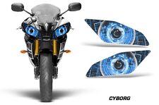AMR Racing Head Light Eyes Yamaha R6 2006-2015 Street Bike Headlight Part CYBG U