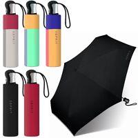 ESPRIT Damen, Herren, Regenschirm, Sturm-Schutz, Taschenschirm, Mini-Schirm NEU