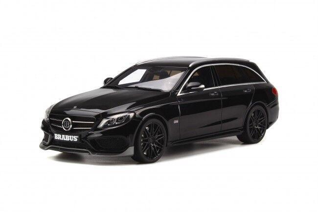 MERCEDES BRABUS Classe C T-Modèle B25 Noir Limité à 500PCS 1 18 GT Spirit GT180