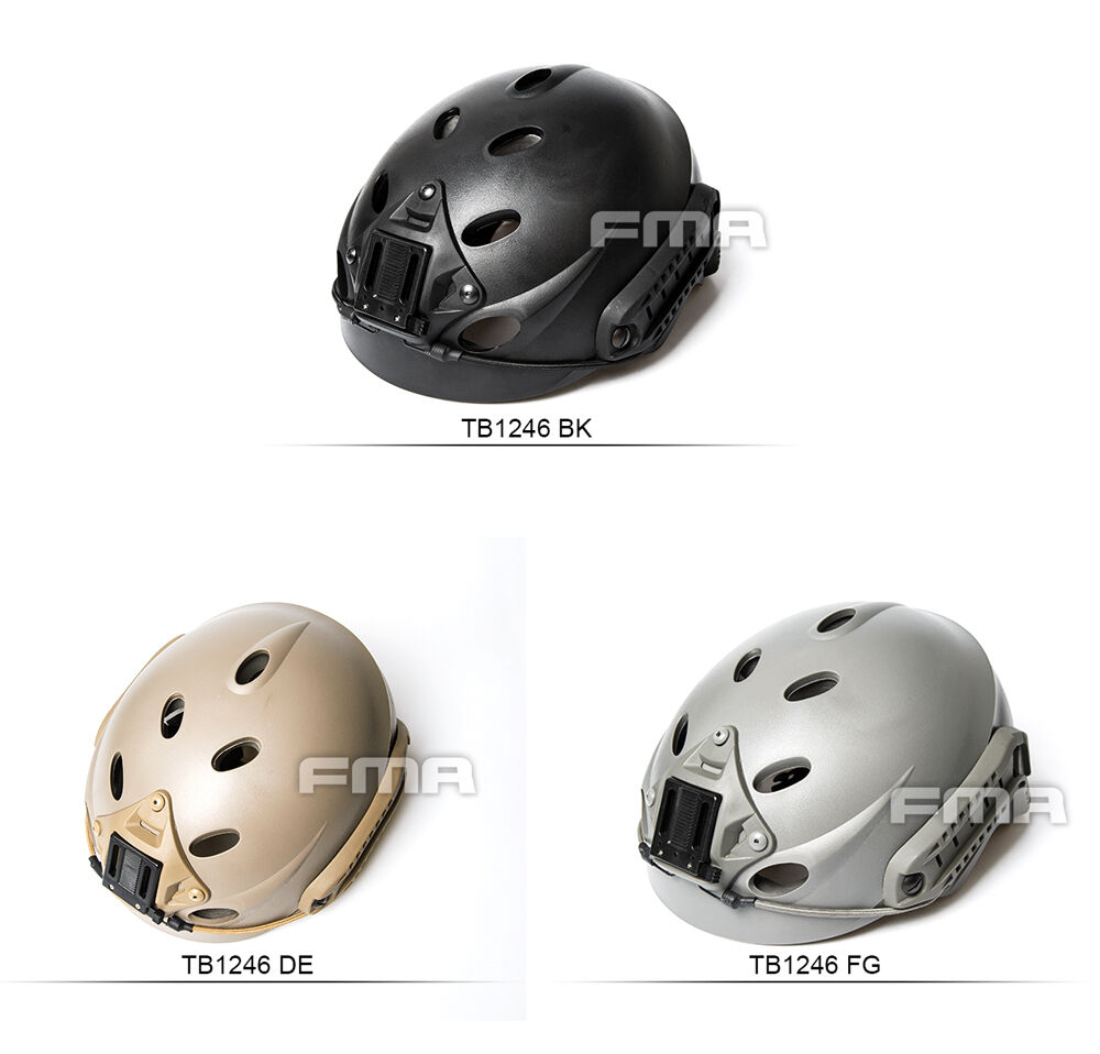 FMA TB1246 Paintball Special Force Recon Tactical Hunting Cycling Helmet