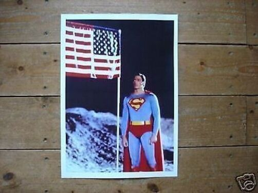 Christopher Reeve SUPERMAN new poster Flag