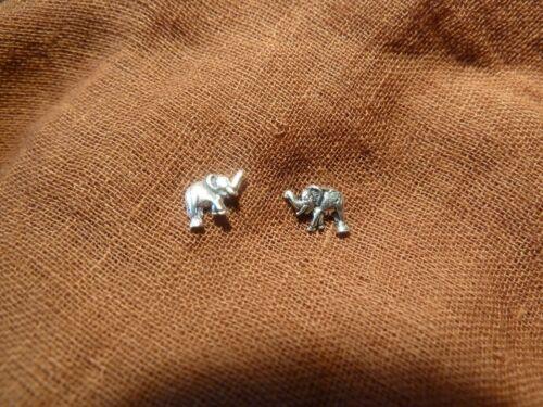 Elefanten Elefant Olifant Rüsseltier 925er Echt Silber Ohrstecker Ohrring OS