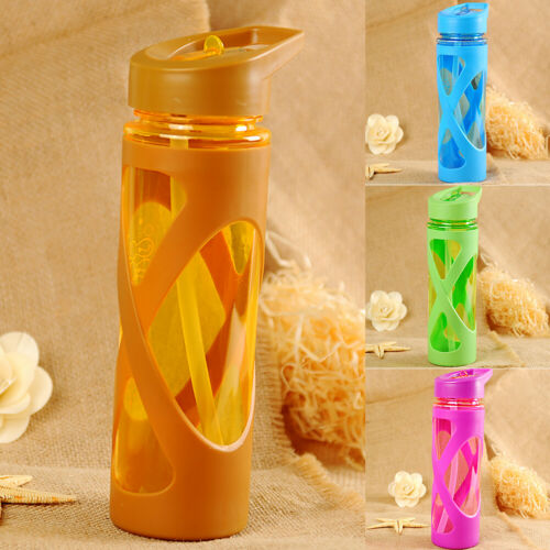 580ml Unbreakable Sport Drink Water Bottle Outdoor Camping Portable Travel Cup