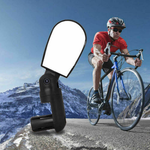 Rotatable Handlebar Rearview Mirror for Bike Bicycle Cycling Rear View Mirror US