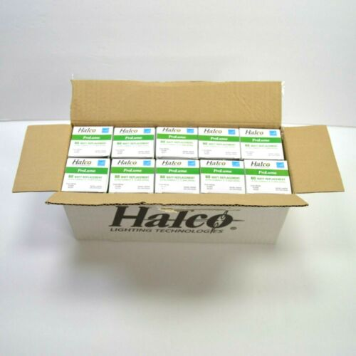 10 PACK Halco Ultra Compact T2 Mini Spiral 60W Replacement 800 Lumens Bulb