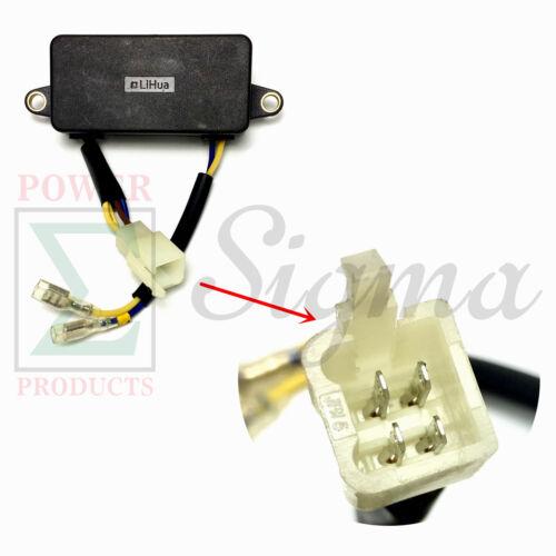 Lihua AVR For PowerMax DuroMax DuroStar XP4400E 3KW 4KW Generator Volt Regulator