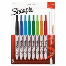 Sharpie 1742025 Retractable Permanent Marker 8 Assorted Colors San1742025