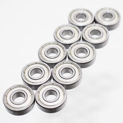 16 Stück Rillenkugellager 608 2Z Kugellager 608 ZZ 8x22x7 mm Miniatur