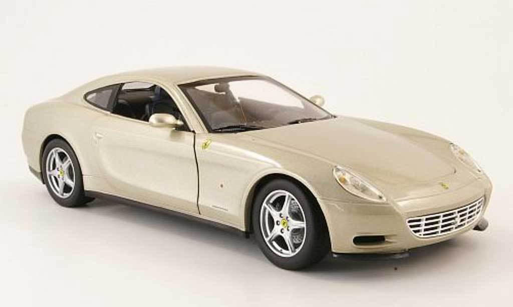Ferrari Ferrari Ferrari 612 Scaglietti Champagne scale 1 18 Hotwheels NEW in box    2e036d