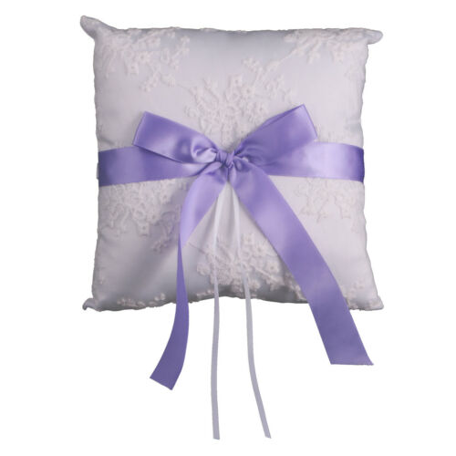 Bride Groom Ring Pillow Holder Engagement Ring Cushion Wedding Favours