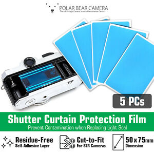 Light Seal Replacement Shutter Protection Sheet for Film Camera SLR Repair