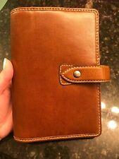 Filofax Personal Size Malden Organiser Planner Diary Ochre Leather