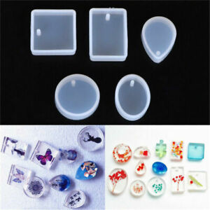 5pcs-Silicone-Mould-Set-Craft-Mold-For-Resin-Necklace-Jewelry-Pendant-Making-Hot