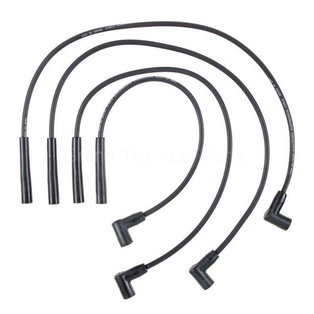 New Prestolite Spark Plug Wire Set 214024 Chevy Cavalier