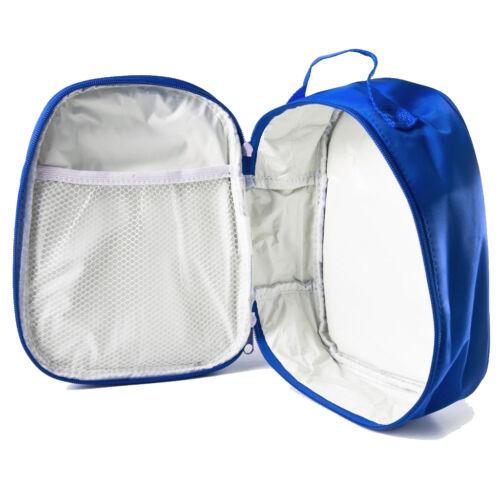 Personalised Kids Lunch Bag Any Name Spongebob Childrens Boys School Snack Box