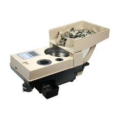 Electronic Coin Change Sorter Coin Counter Counting Machine For Most Countries