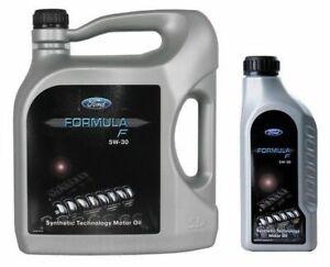5-LT-Olio-Motore-5W30-Originale-FORD-Formula-F-A5-B5-BENZINA-E-DIESEL