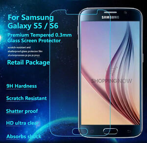 Premium Tempered Glass Screen Protector Samsung Galaxy S5 / S6 Note 3 / 4 Note 5