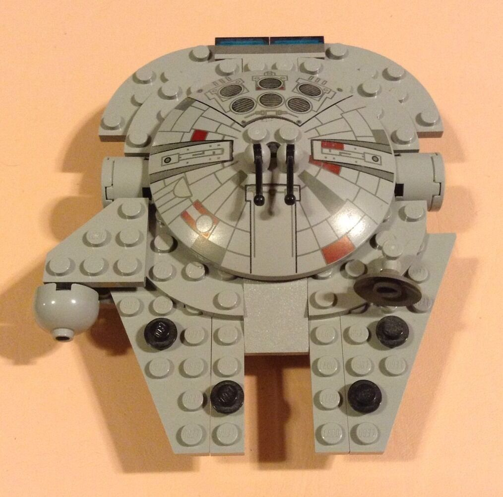 LEGO Star Wars - Rare Mini 4488 Millennium Falcon Falcon Falcon -  Complete - 87 pieces 10179 6651d7