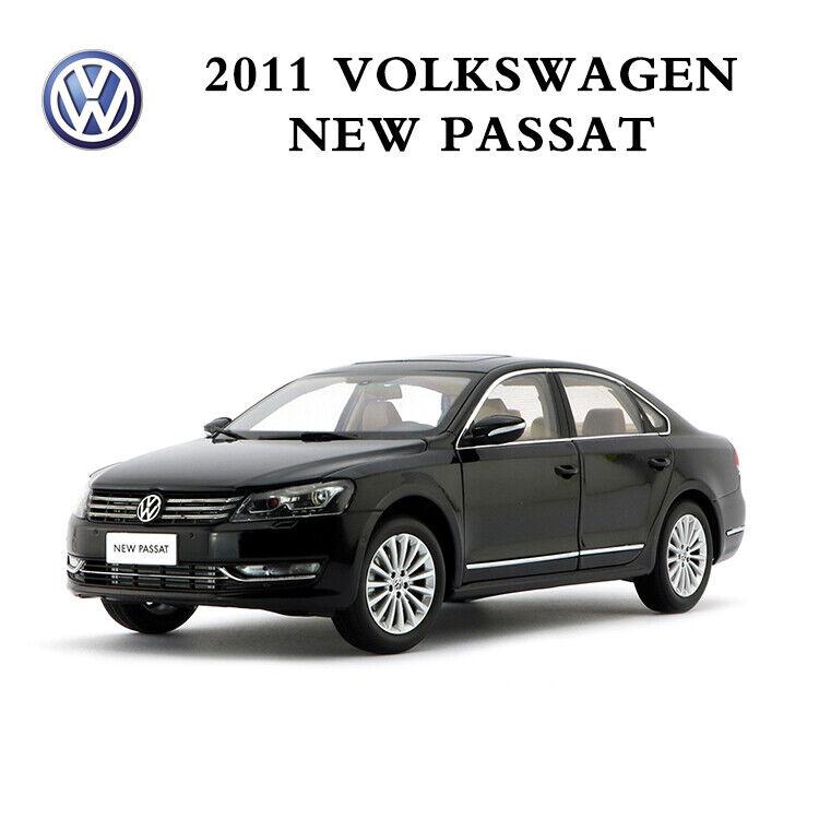 SHANGHAI VOLKSWAGEN Original auto modello 2011 VW nuovo PASSAT in 1 18 Scala nero