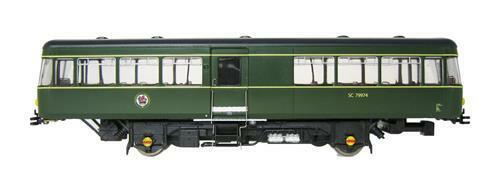 Heljan Park Royal järnvägbusss SC79974 i BR grön 8751 - fri Shipping