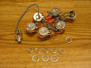 s l300 rickenbacker single jack electronic control pots harness ebay
