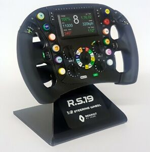 Z-Models-1-2-Scale-Renault-RS19-Replica-F1-Steering-Wheel