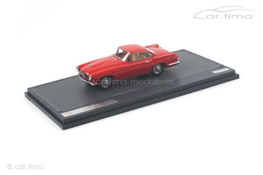 Jaguar xk140 Coupe Ghia Coupé 1955-rojo - 1 of 408-Matrix Scale Models - 1 43