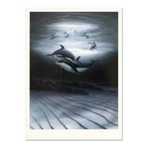 Wyland-034-Dolphin-Affection-034-Signed-Limited-Edition-Art-COA