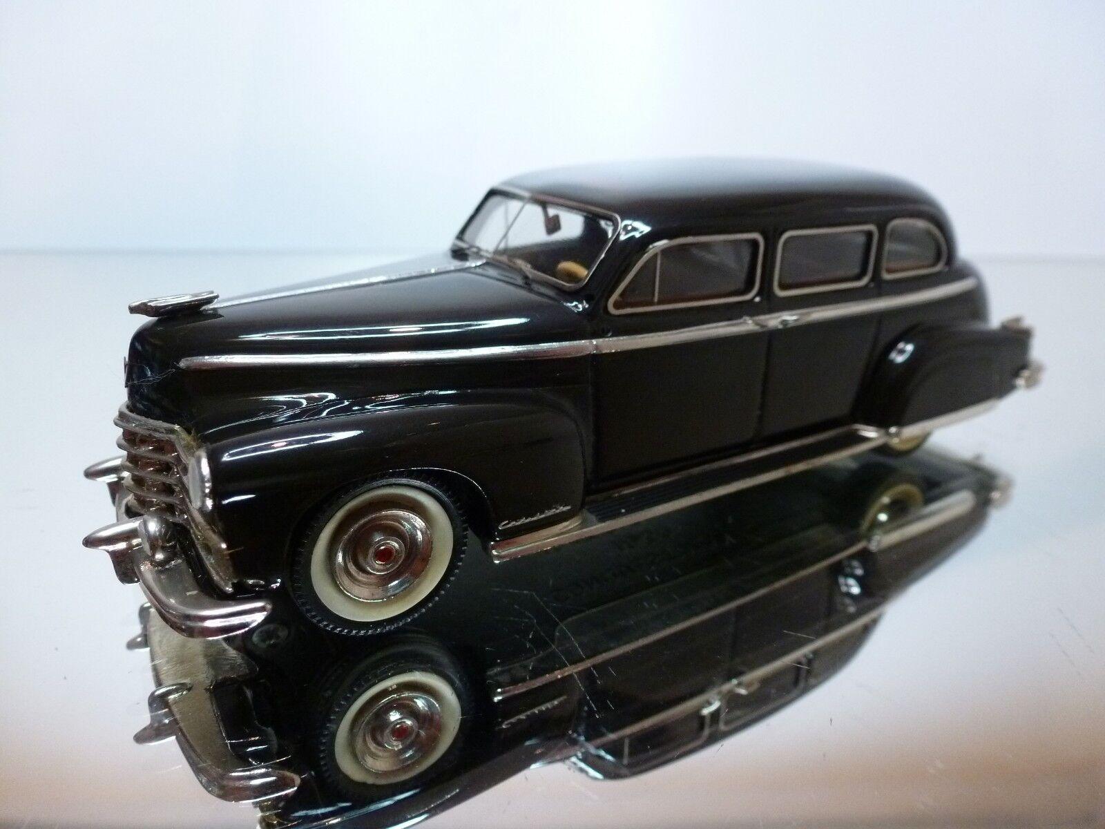 CONQUEST MODELS 1947 CADILLAC FLEETWOOD 75 - grigio nero 1 43 - EXCELLENT - 6