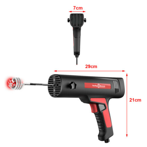 Magnetic Induction Heater Tool Coil Kit Bolt Remover Flameless Heat 110V for Car