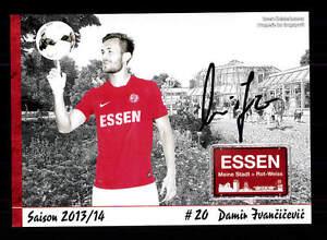 Damir Ivancicevic Autogrammkarte Rot Weiss Essen 2013-14 Original Sign+a 144880 Zahlreich In Vielfalt Fußball, National Sammeln & Seltenes
