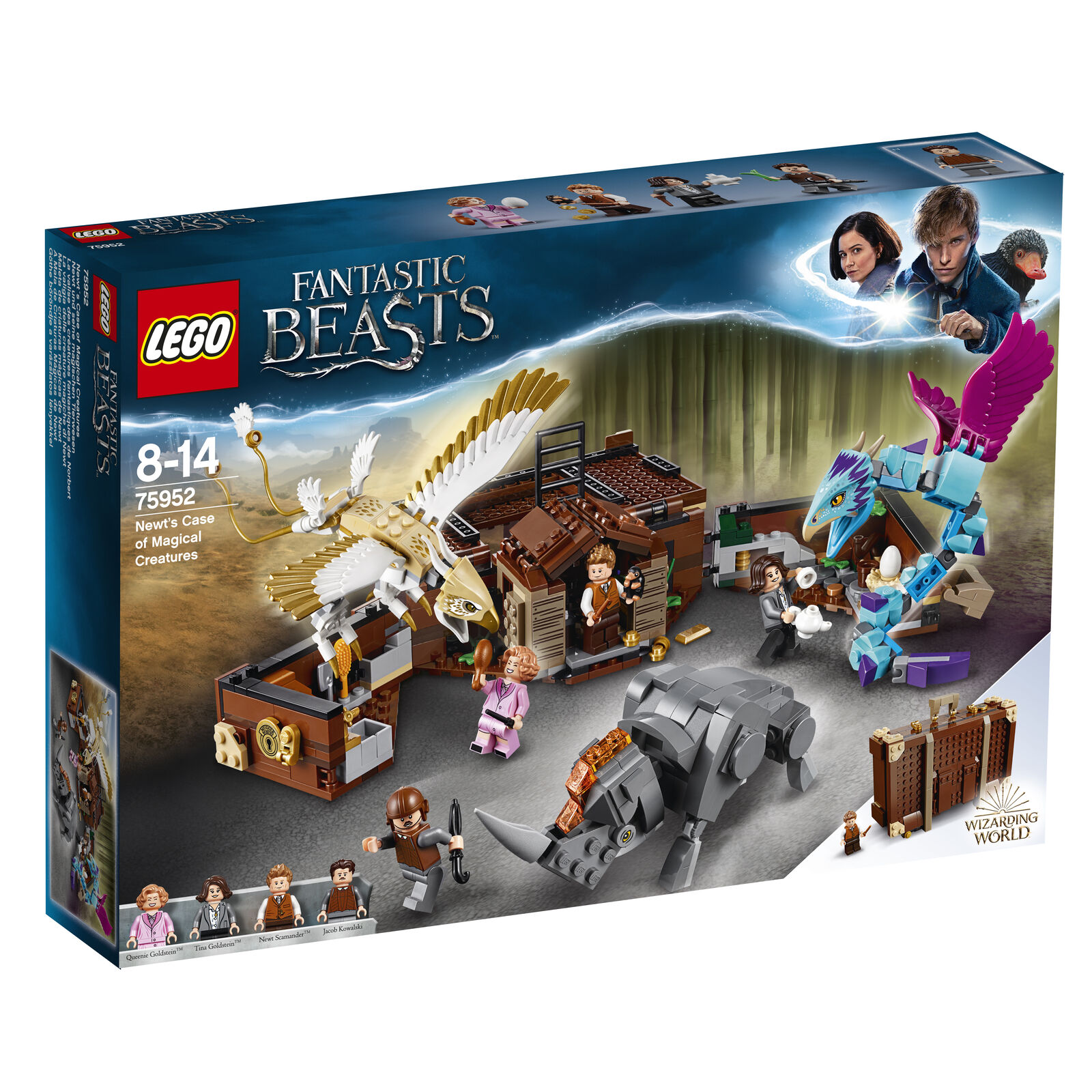 LEGO® Harry Potter™ - Newt´s Newt´s Newt´s Case of Magical Creatures 75952 Harry Potter Toy ff7904