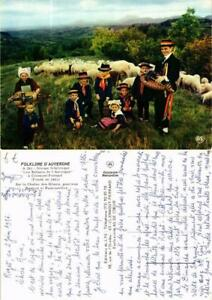 """CPM """"Les Enfants de l'Auvergne"""" FRANCE FOLKLORE (732886) eFF7XHnF-09155922-708103821"""