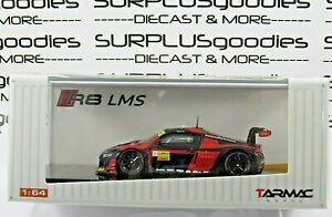 Tarmac-Works-1-64-Hobby64-AUDI-R8-LMS-FIA-GT-World-Cup-Macau-2016-Winner-8-Red