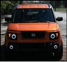 Halo Fog Lights Kit (White) for 2007 - 2011 Honda Element