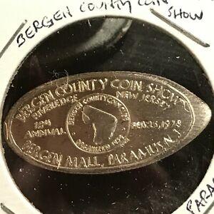 1978-BERGEN-COUNTY-COIN-SHOW-PARAMUS-NJ-SILVER-1962-ELONGATED-DIME-SCARCE