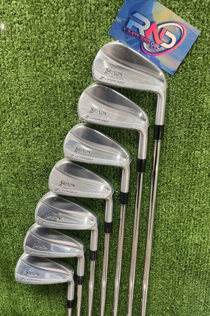 Srixon Z-Forged Blade Iron Set 4-PW DG 120 S300 Brand New