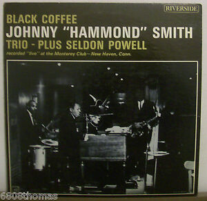 Johnny-034-Hammond-034-Smith-Trio-Seldon-Powell-Black-Coffee-Riverside-RM442-VG-DG