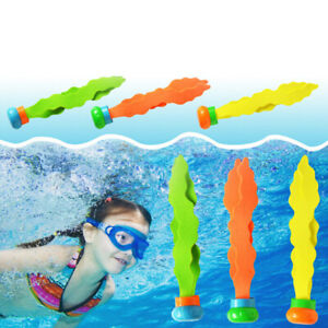 3pcs-Children-Diving-Swimming-Colorful-Pool-Sink-Training-Diving-Seaweed-Toy-FT