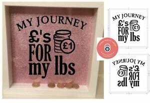 Details Sur Money Box Sticker My Journey Weight Loss Money Box S For Lbs Diy Frame
