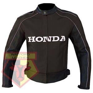 HONDA-5523-BROWN-MOTORBIKE-MOTORCYCLE-BIKERS-COWHIDE-LEATHER-ARMOURED-JACKET
