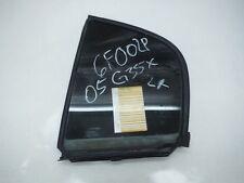 2005 INFINITI G35X A/T DRIVER LEFT REAR QUARTER WINDOW GLASS OEM 2003 2004